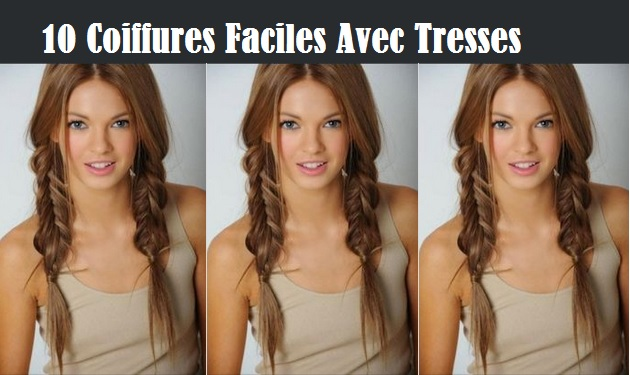 coiffure avec tresses coiffure simple et facile part 2. Black Bedroom Furniture Sets. Home Design Ideas