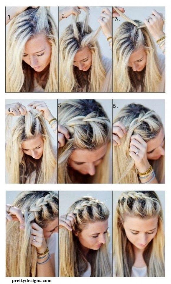 10 magnifiques coiffures faciles et rapides avec tresse coiffure simple et facile for Comcoiffure avec tresse facile