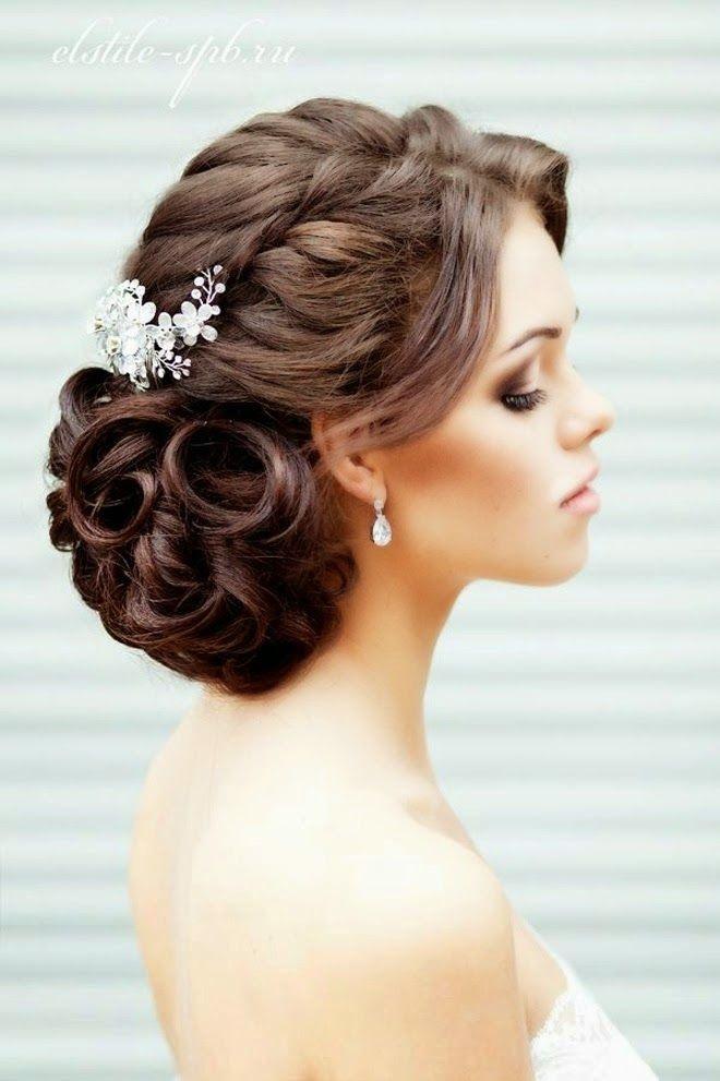 Frais Coiffure simple pour mariage coiffure boucle mariage   Abc coiffure QU37