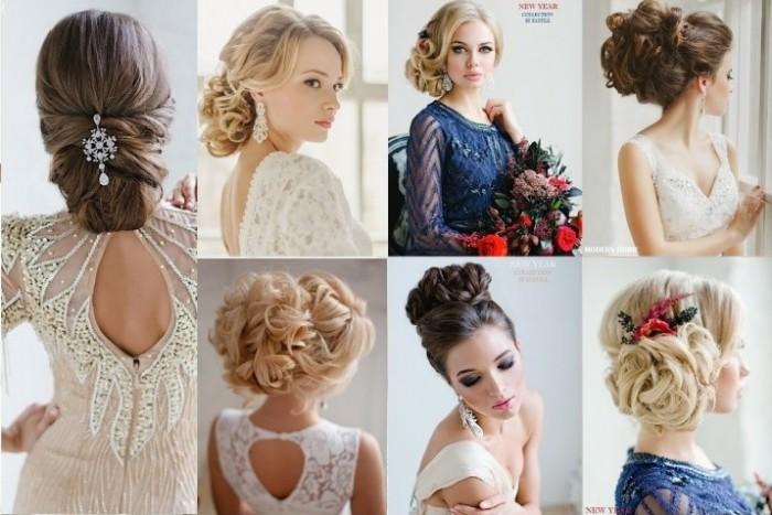 top 20 plus magnifiques coiffures de mariage coiffure simple et facile. Black Bedroom Furniture Sets. Home Design Ideas