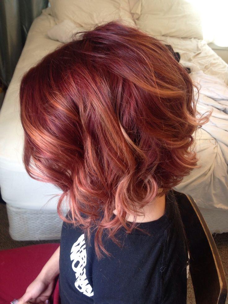 20 coupes et couleurs cheveux magnifiques sign es 2015 coiffure simple et facile - Coupe et couleur tendance automne 2015 ...
