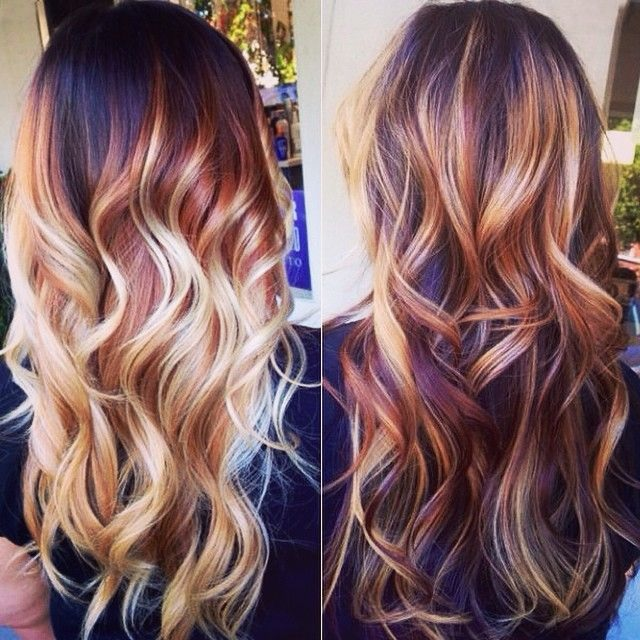 20 Colorations ,Ombré Hair Chic Et Tendance | Coiffure simple et ...