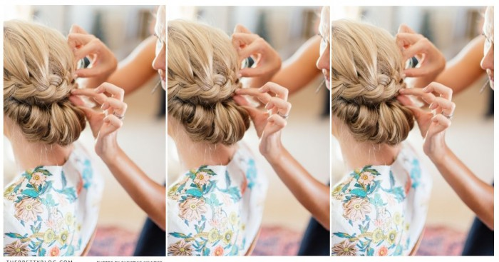 le top 10 plus beaux chignons de mariage coiffure simple et facile. Black Bedroom Furniture Sets. Home Design Ideas