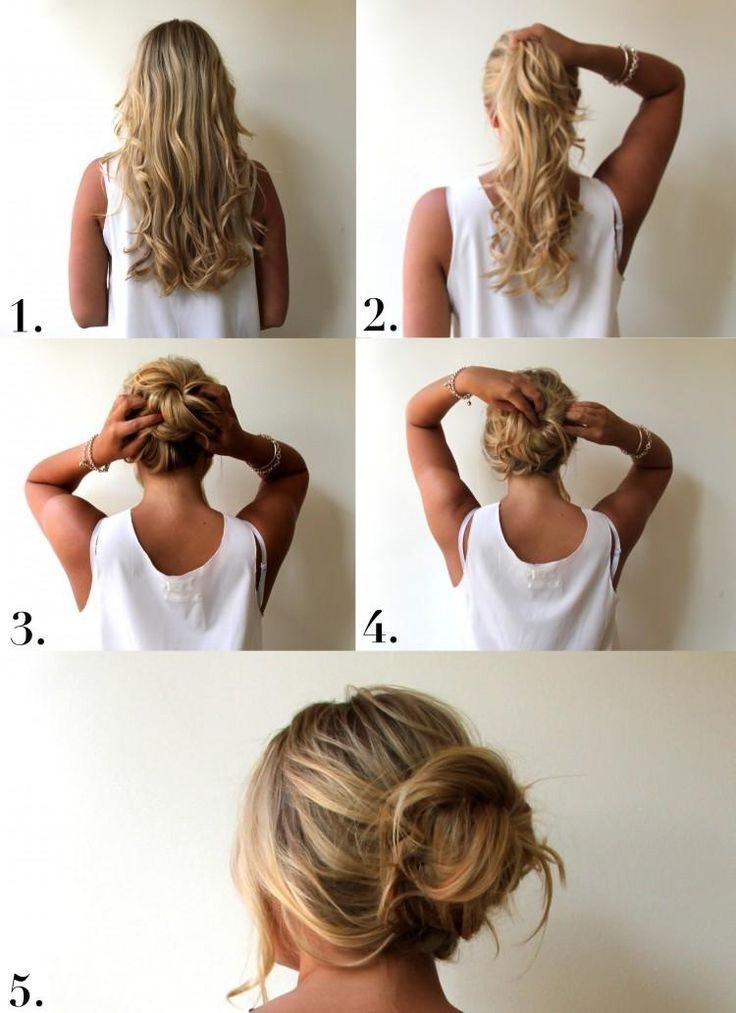 ... De Volume et De Longueur à Vos Cheveux  Coiffure simple et facile