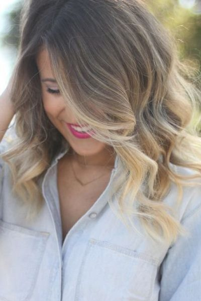 20 ombr hair pour cheveux mi longs coiffure simple et facile - Coupe ombre hair ...