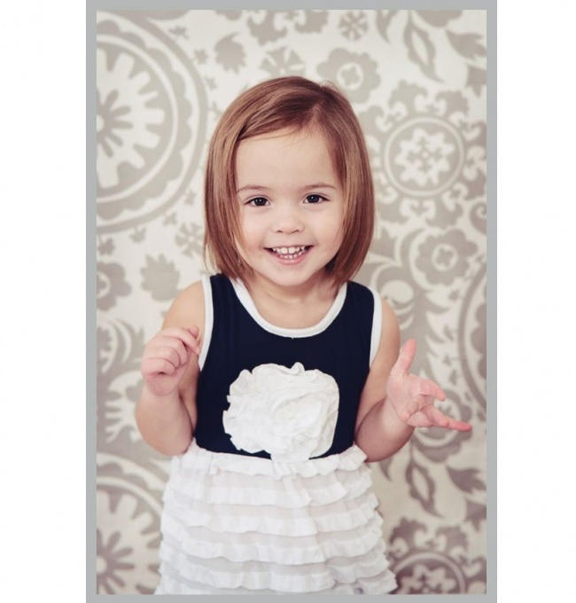 Coupe Fille 2 Ans