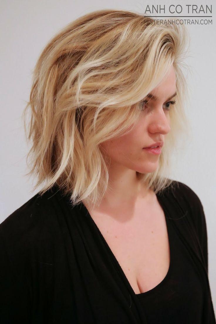 Coupe pour cheveux blond