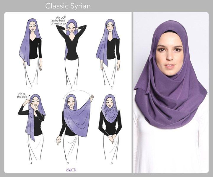 Exceptionnel Vous Êtes Voilée ?! Voici 20 Styles De Hijab Fashion Et Modernes  EC01