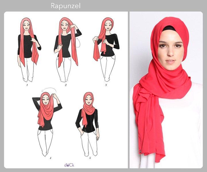 Vous Tes Voil E Voici 20 Styles De Hijab Fashion Et Modernes Coiffure Simple Et Facile