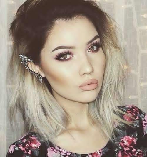 20 Ombré Hair Pour Cheveux Mi-Longs