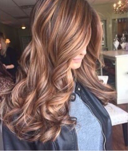 Photo couleur cheveux long