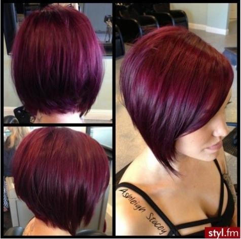 sourcestylfm - Coloration Cheveux Aubergine