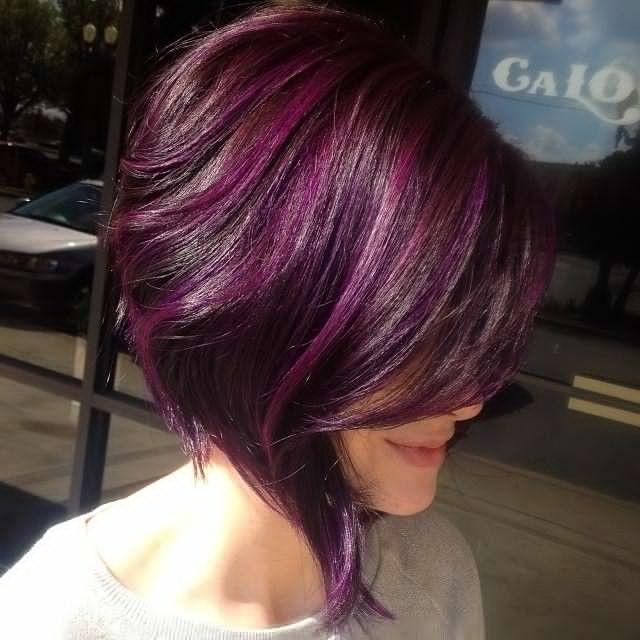 Couleur cheveux 2019 aubergine