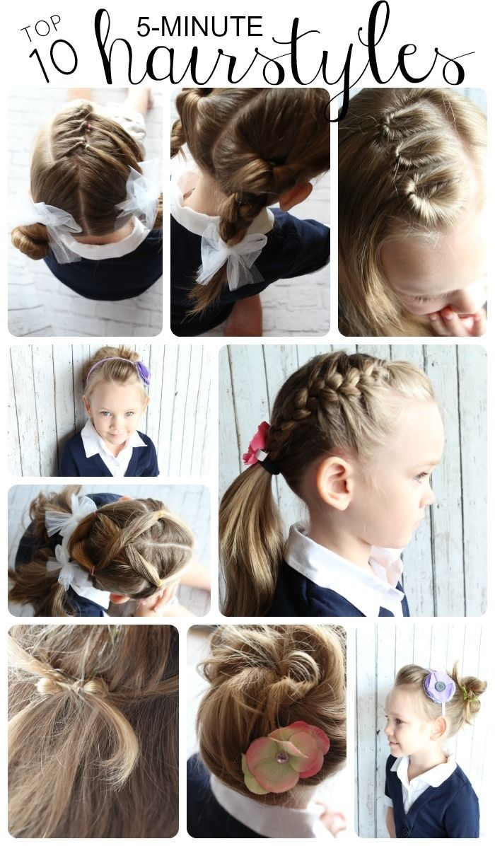top ten hairstyles for girls