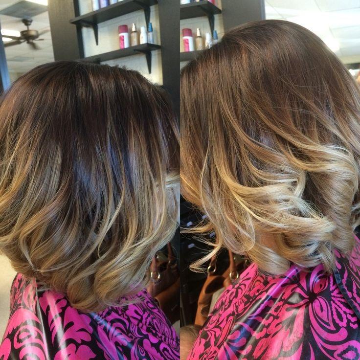 25 Ombr 233 Hair Pour Les Cheveux Mi Longs Coiffure Simple