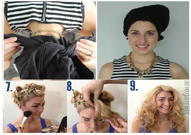Comment faire boucler les cheveux sans fer