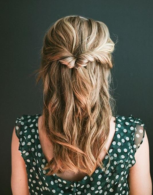 Soir e coiffure simple et facile - Coiffure soiree simple ...
