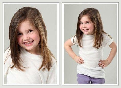 Couper les cheveux longs de ma fille