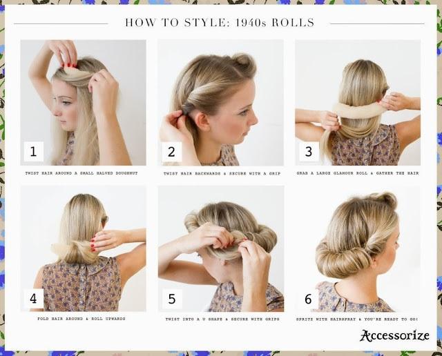 Hair Style 1940: Les Meilleures Coiffures Soirée Pour Fêter Noel