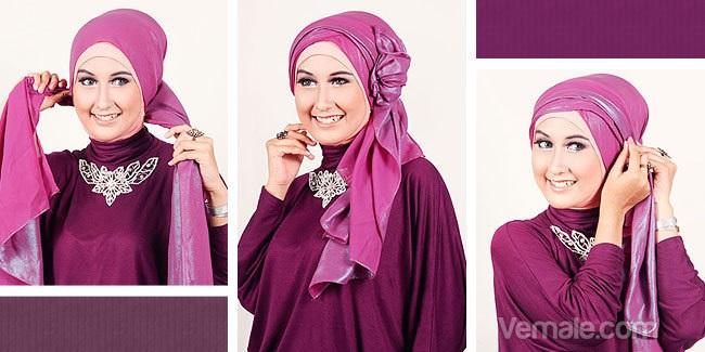 Exceptionnel Vous Êtes Voilée ?! Voici 20 Styles De Hijab Fashion Et Modernes  JK43