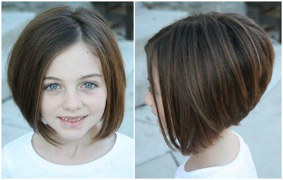 Envie de couper les cheveux de votre petite fille? Voici les meilleures idées | Coiffure simple ...