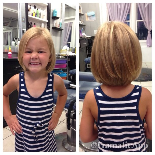 5 Year Old Girl Short Haircuts