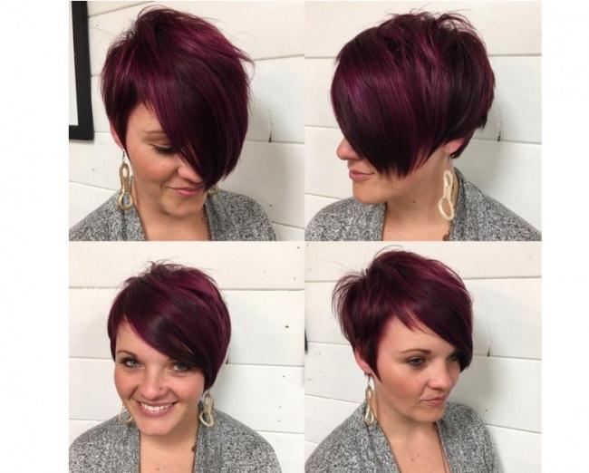 """essayez cette coiffure Coiffure pour cheveux gris cette couleur hne connu comme le sel et le poivre à cause de l""""odeur à travers elle si vos cheveux sont naturellement gris, n'essayez pas de lutter contre elle, au lieu de l'utiliser pour votre propre bénéfice."""