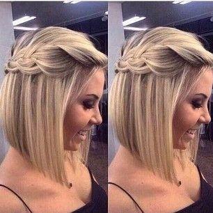 Coiffure femme cheveux court soiree