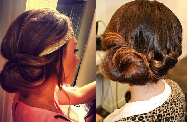 Sp cial r veillon 2016 30 mod les de coiffures soir e pour vous inspirer coiffure simple et - Coiffure soiree simple ...