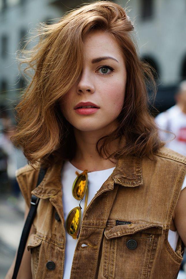 60 Styles de Cheveux Mi-Longs Magnifiques | Coiffure simple et facile