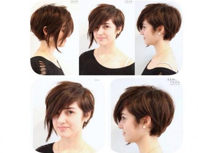 top 15 meilleures coupes courtes asym triques piquer coiffure simple et facile. Black Bedroom Furniture Sets. Home Design Ideas