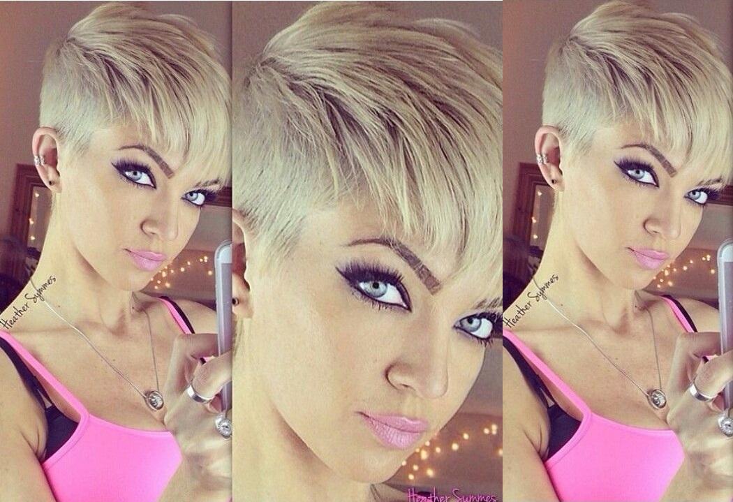 Coiffure courte femme rase coiffures la mode de cette - Coiffure femme rase ...