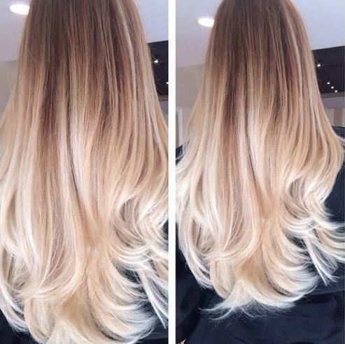 Avoir des cheveux blond c\u0027est avoir un charme spécial! Découvrez un album  spécial couleurs ombré hair et mèches blonds qui vous donnera envie de  changer