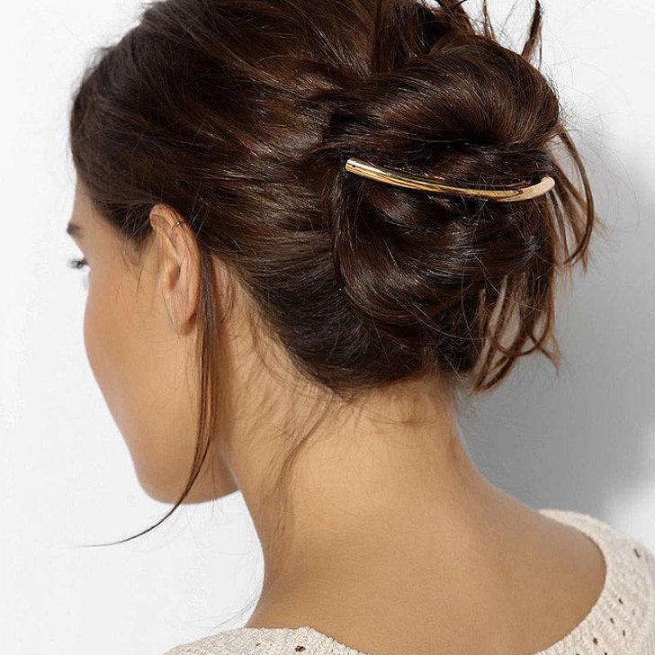 Cheveux Attaches 2018 78 Idees De Coiffures Chics Ou Decontractees