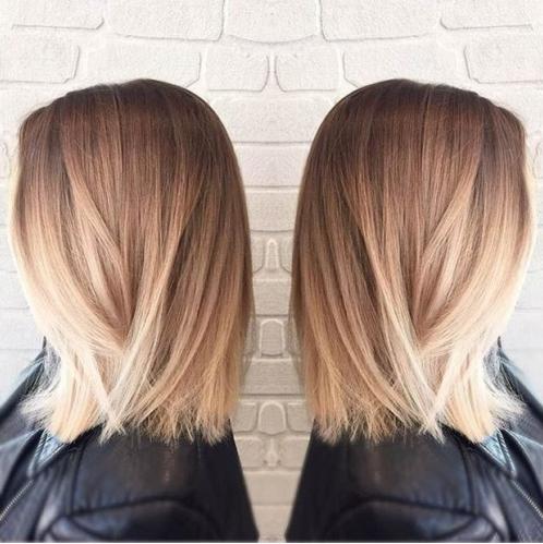couleur cheveux blond meche