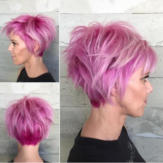 Couleurs Fashion Cheveux courts : Les 20 Modèles les plus Fashion ...