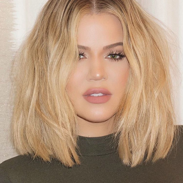 Khloe kardashian hair 2018 ombre