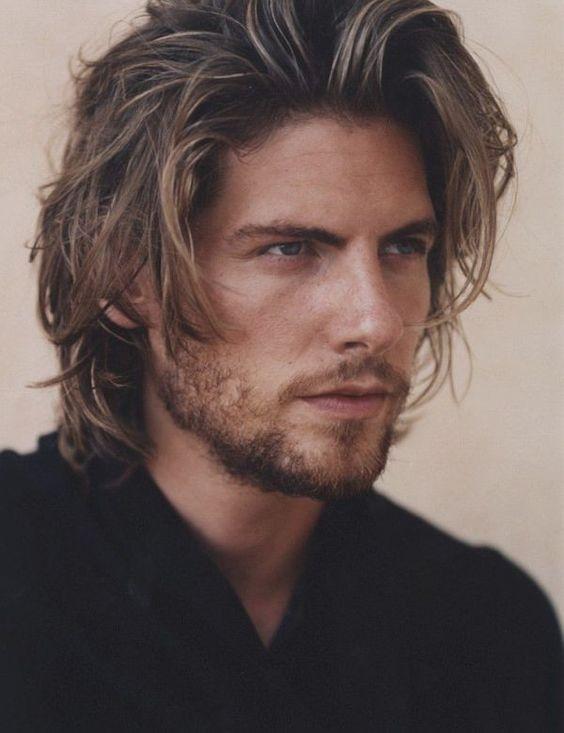 Très Coupe cheveux homme mi long coiffure mariage chignon | Coiffure  UU35