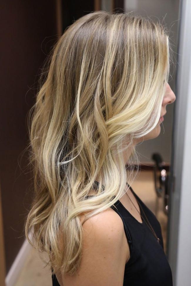 m ches et ombre hair blond le top 10 meilleurs mod les coiffure simple et facile. Black Bedroom Furniture Sets. Home Design Ideas