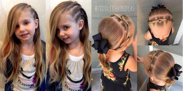 coiffure petite fille pour ecole 20 mod les coiffure simple et facile. Black Bedroom Furniture Sets. Home Design Ideas