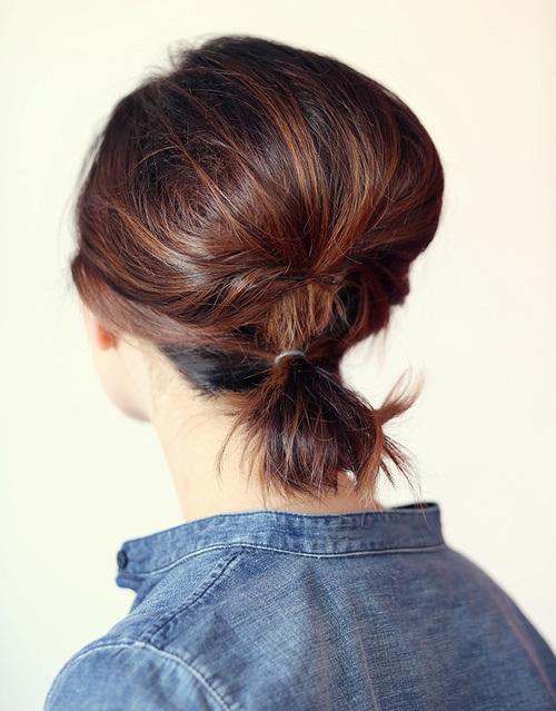 50 coiffures simples et rapides pour cheveux courts coiffure simple et facile - Coiffure simple et rapide cheveux court ...