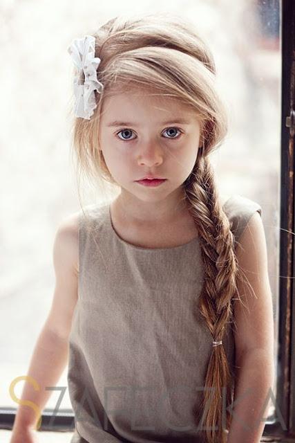 Tresses faciles pour petite fille coiffure simple et facile - Coiffure petite fille ...