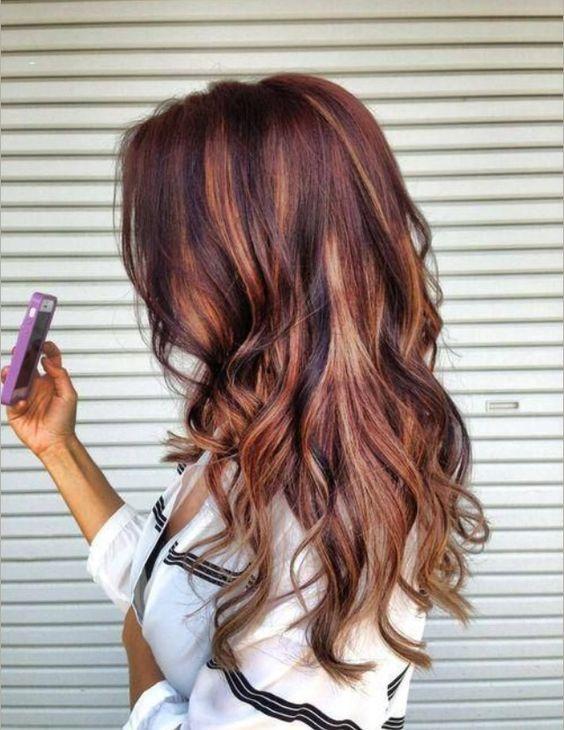 ombre hair marron caramel tendance printemps t 2016 coiffure simple et facile. Black Bedroom Furniture Sets. Home Design Ideas