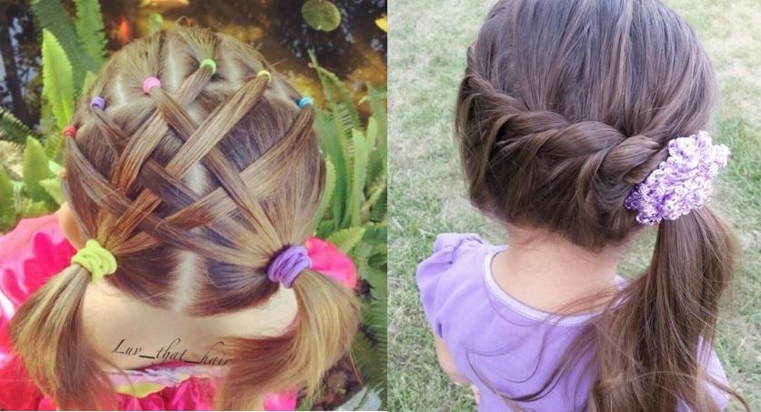 coiffures magnifiques pour petites filles coiffure. Black Bedroom Furniture Sets. Home Design Ideas