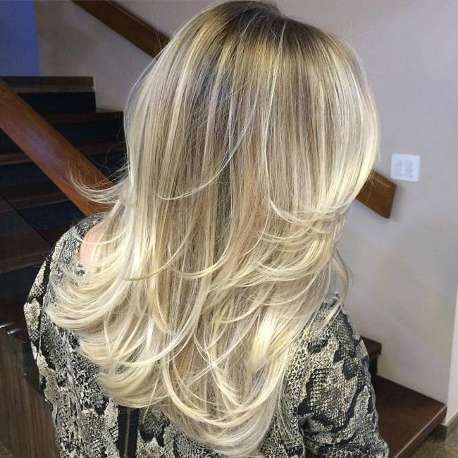 cheveux Méches 11