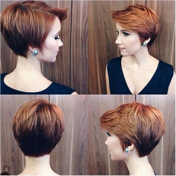 Coupe et couleur de cheveux court