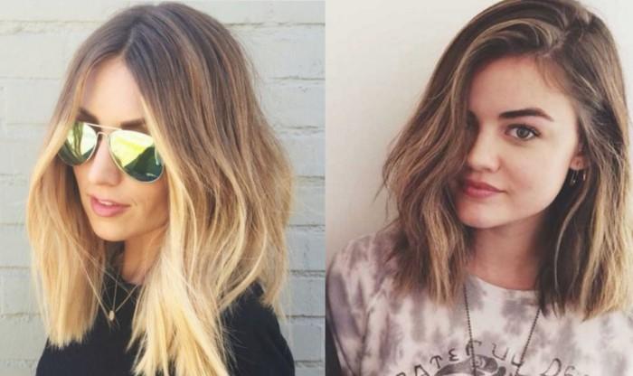 Coiffure cheveux mi longs coiffure simple et facile - Coupe fille mi long ...