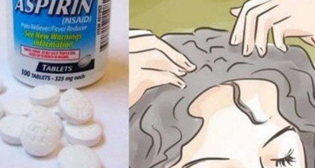 Cette-Femme-Frotte-de-L-aspirine-sur-Ses-cheveux-Pour-Une-Raison-Incroyable-0
