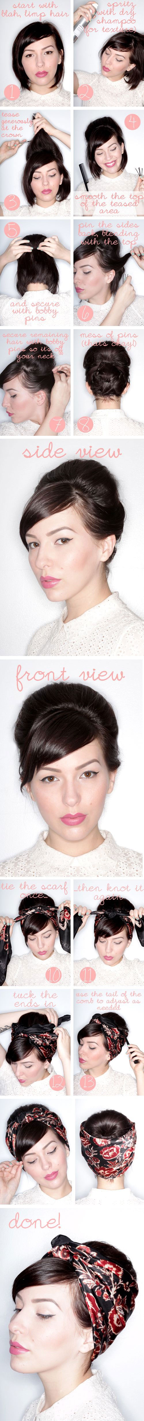 Coiffures-De-5-Minutes-Pour-Vos-Cheveux-Courts-3