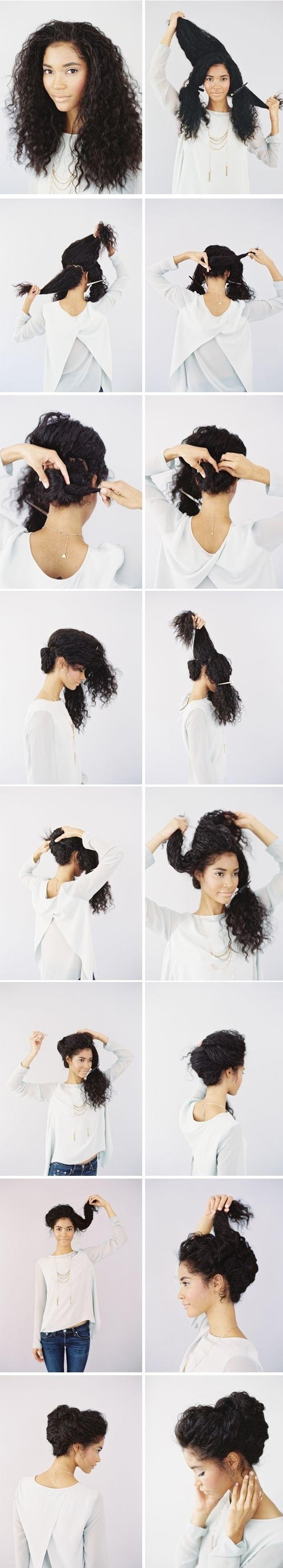 Coiffures-Pratiques-Sur-Cheveux-Bouclés-2